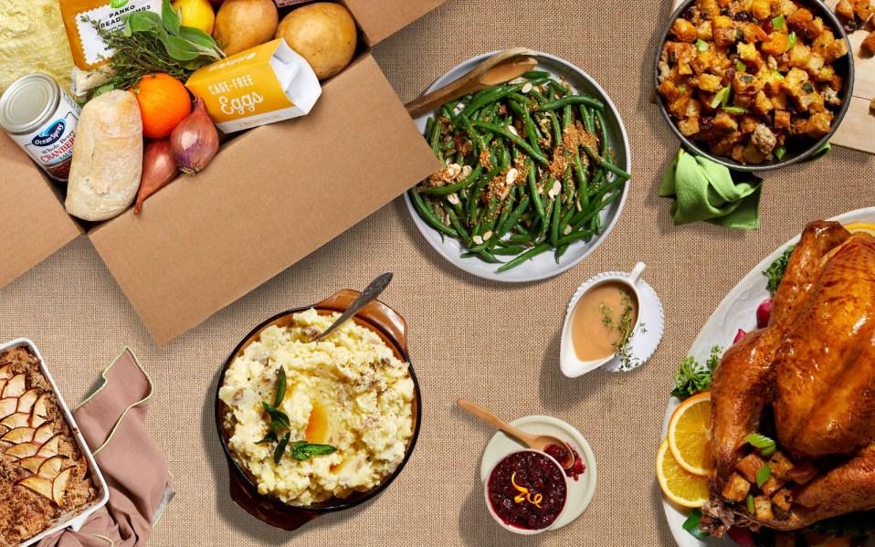 HelloFresh Thanksgiving Meal