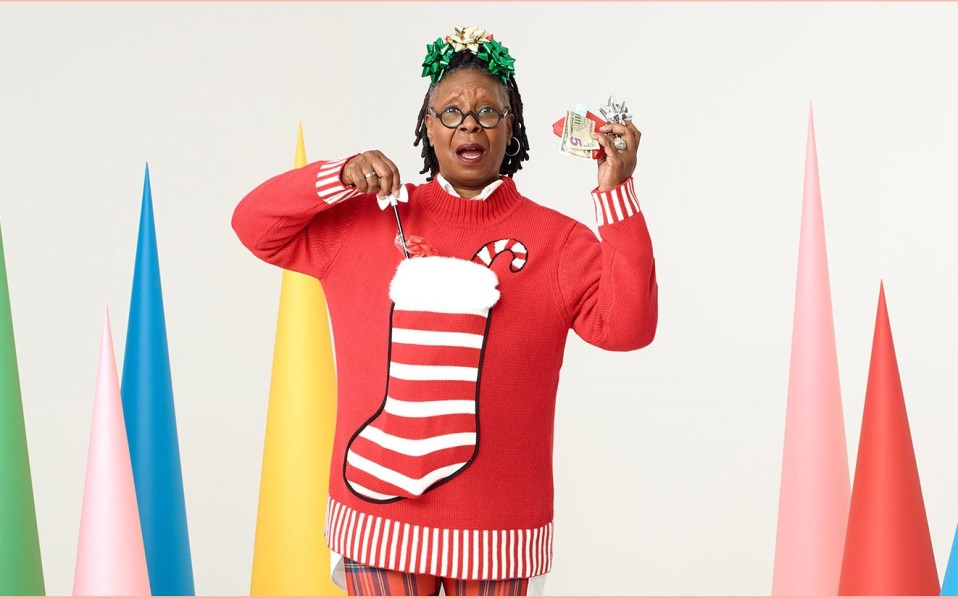 whoopi christmas sweater zappos