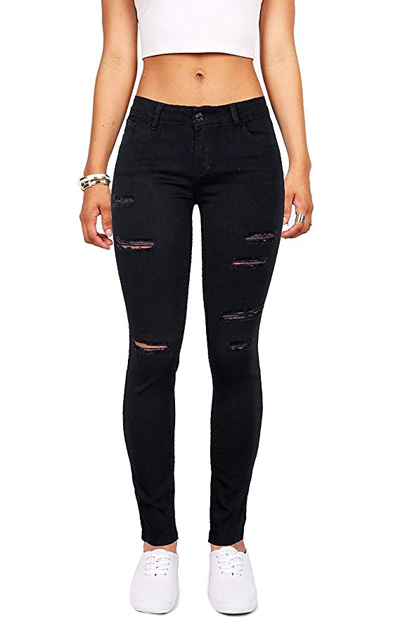best ripped jeans amazon under 30 skirt bl high waisted stretch skinny distressed denim