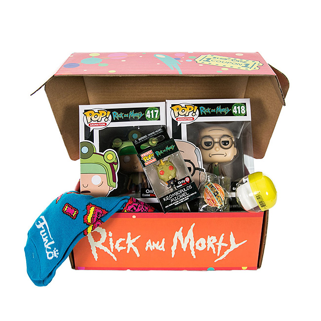 Rick and Morty Mystery Box