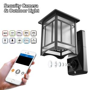 Lamp Camera Outdoor WiFi Security