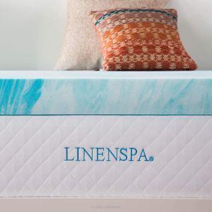 Linenspa 4 Inch Gel Swirl Memory