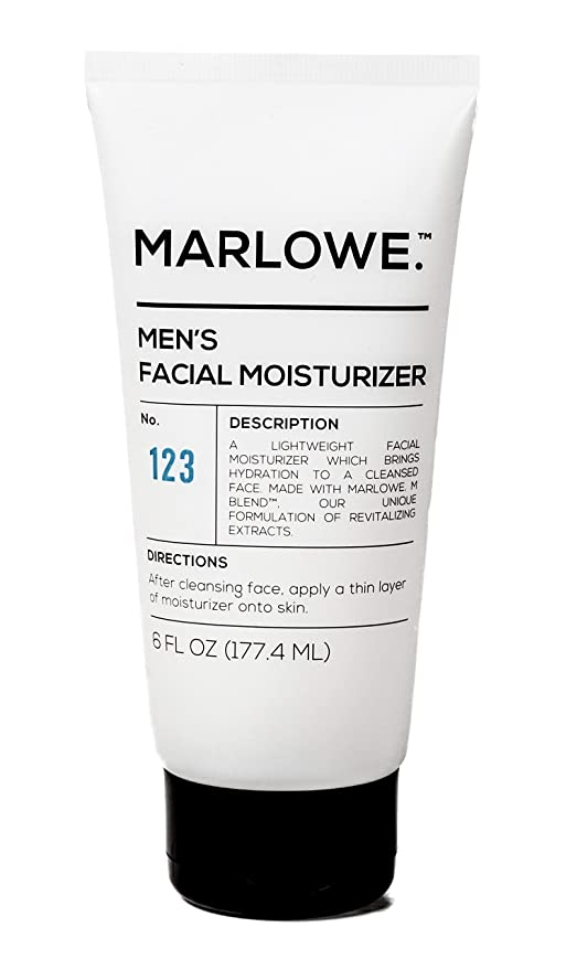MARLOWE. No. 123 Men's Facial Moisturizer