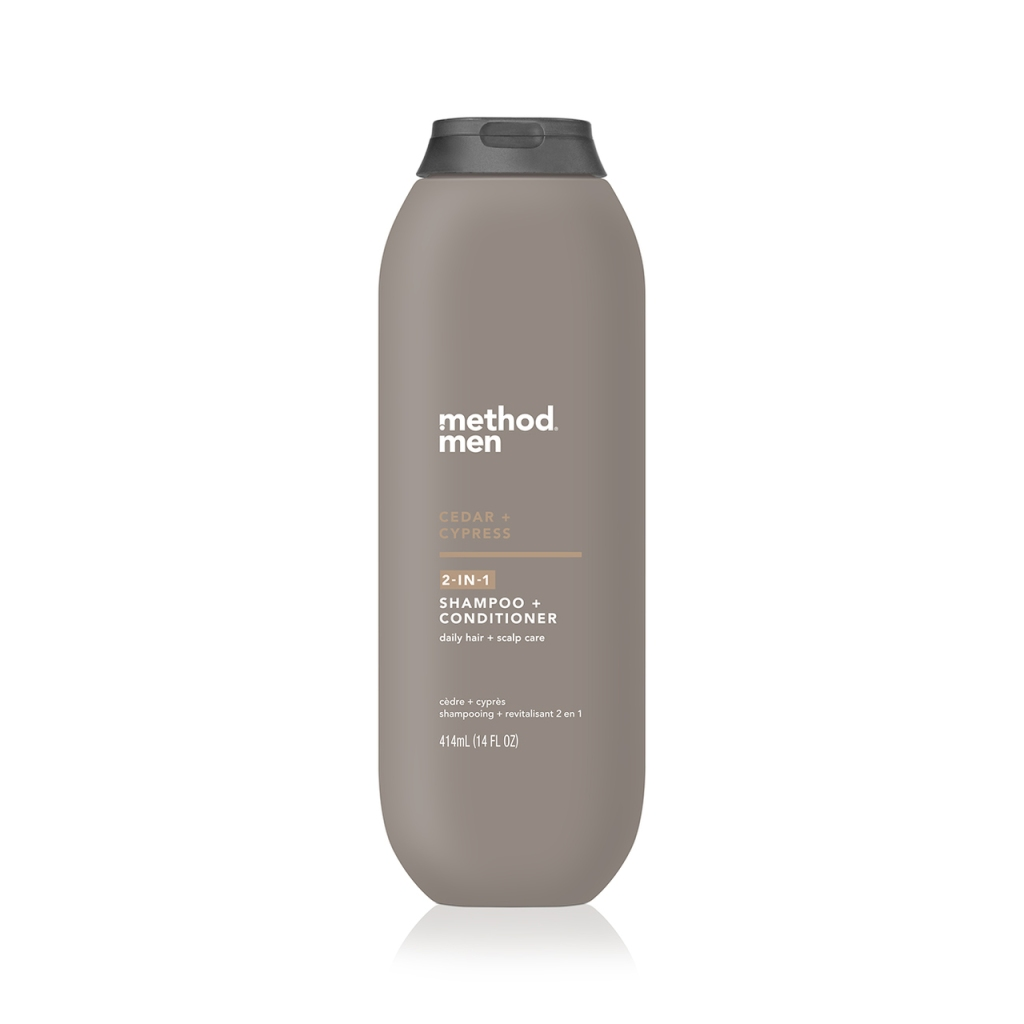 method men cedar cypress 2 in 1 shampoo and conditioner