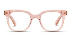 Muse X Hilary Duff Clara Clear Pink Glitter