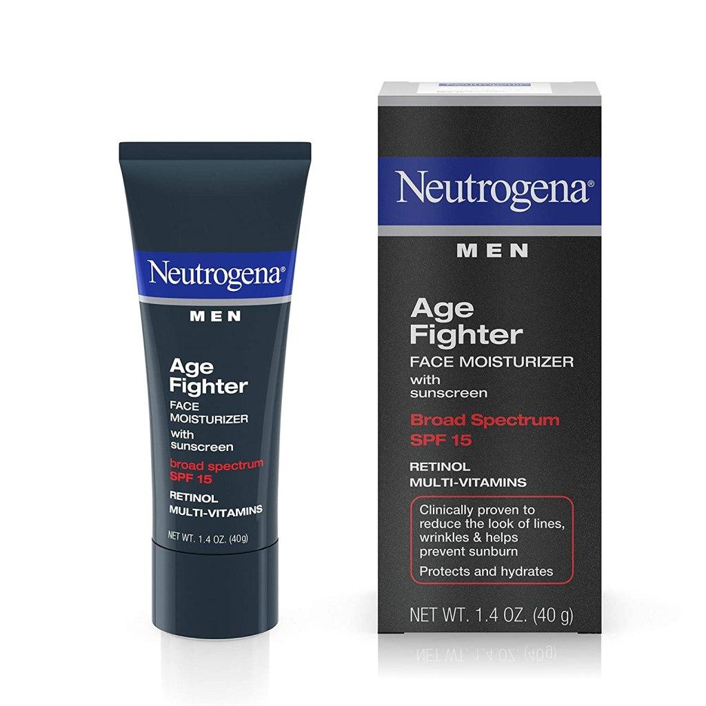 Neutrogena Men Age Fighter Face Moisturizer, best men's moisturizers