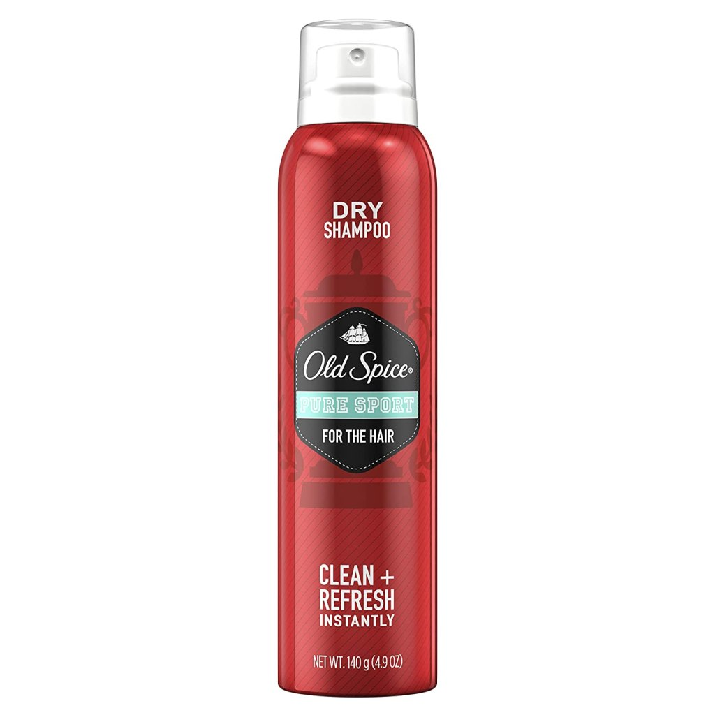 old spice men's dry shampoo pure sport
