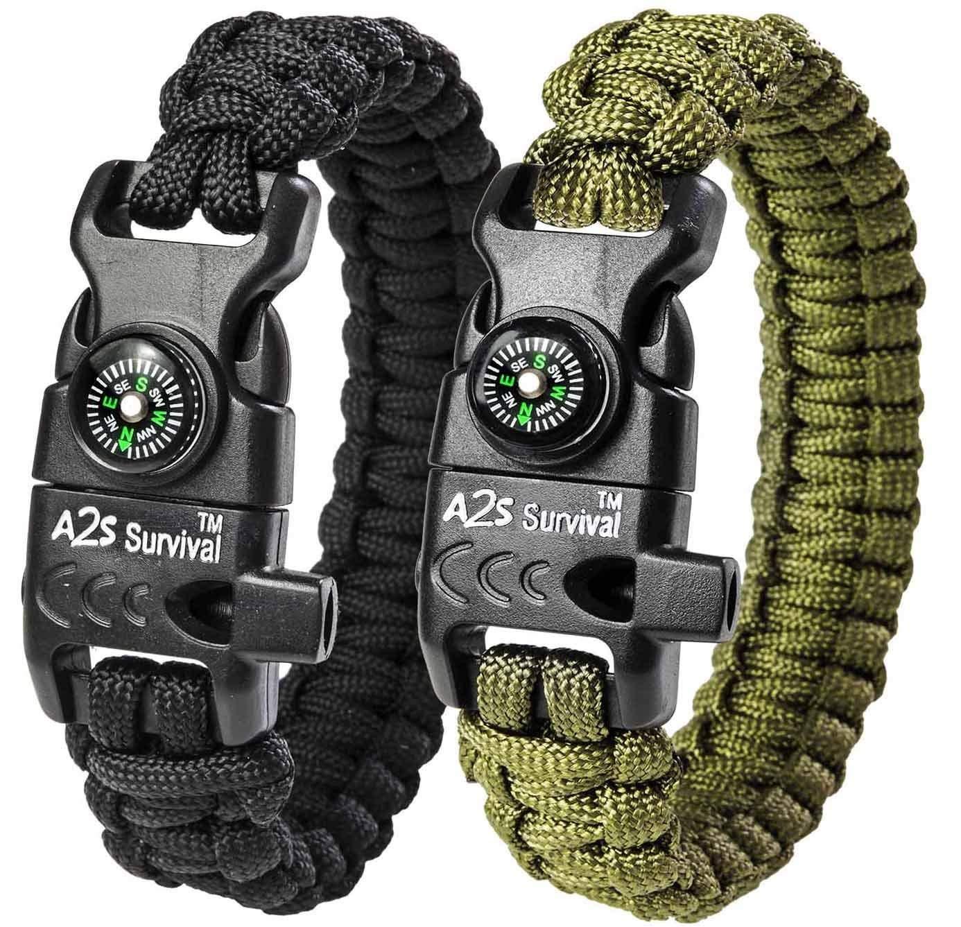 Paracord Bracelet survival tool