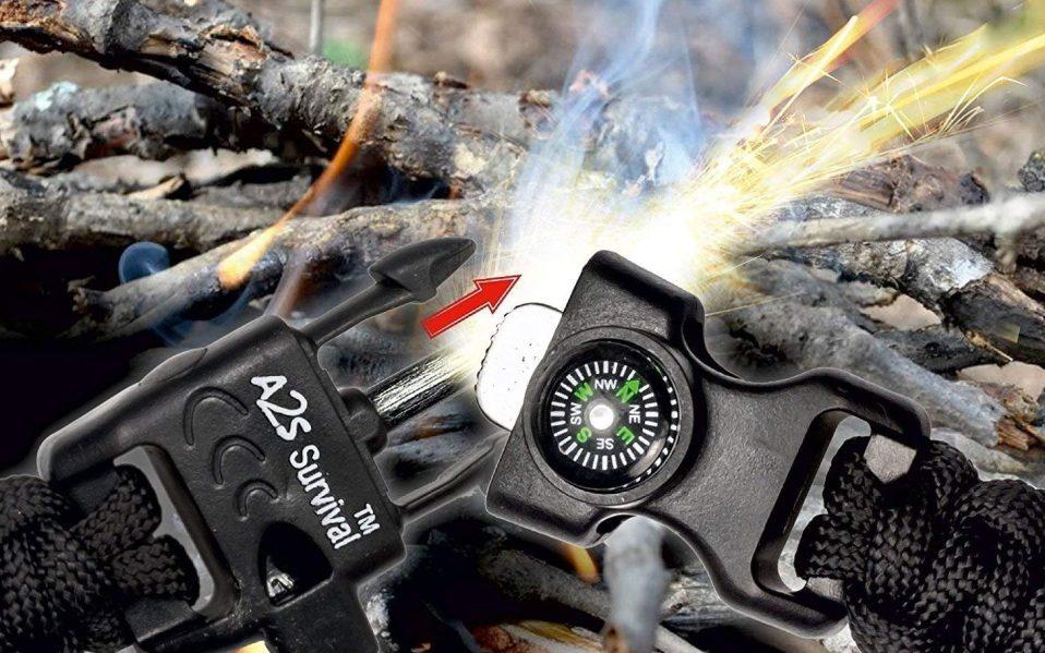Survival escape tool fire starter