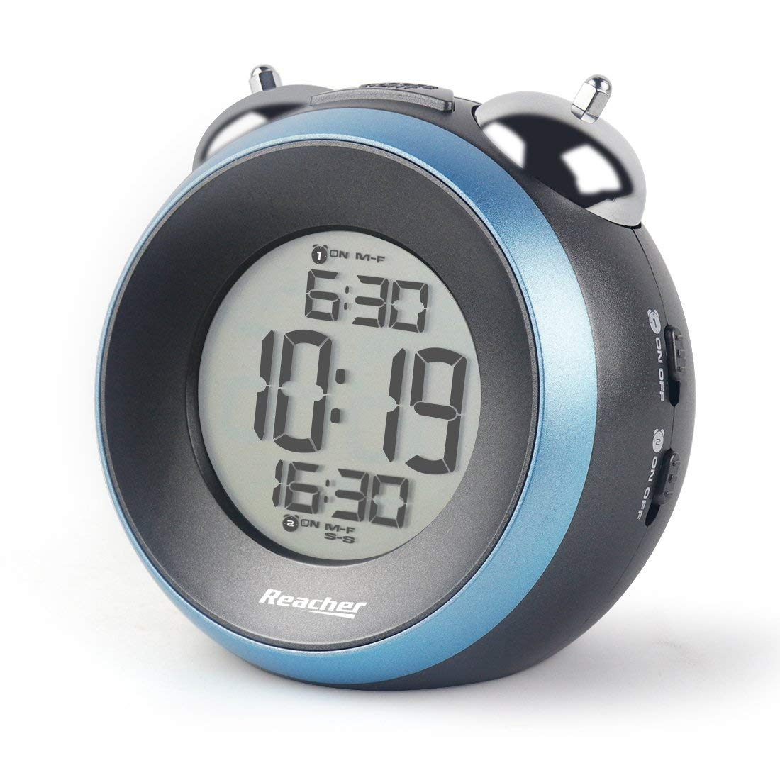 Reacher alarm for heavy sleepers
