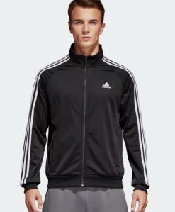 Black Track Jacket Adidas