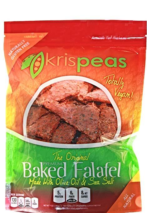 best healthy snacks alternatives krispeas baked falafel nacho chips