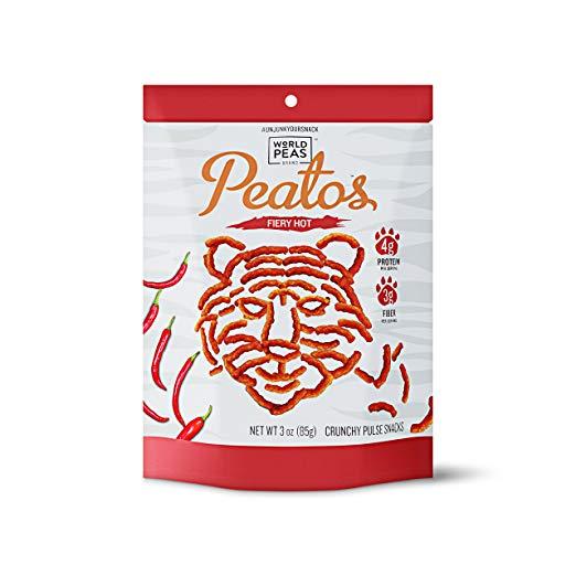best healthy snacks alternatives peatos fiery hot cheetos