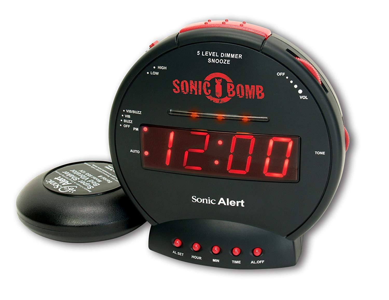 Sonic Alert Flashing Alarm