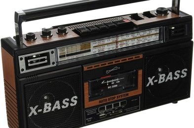 SuperSonic Retro Collection Boom Box