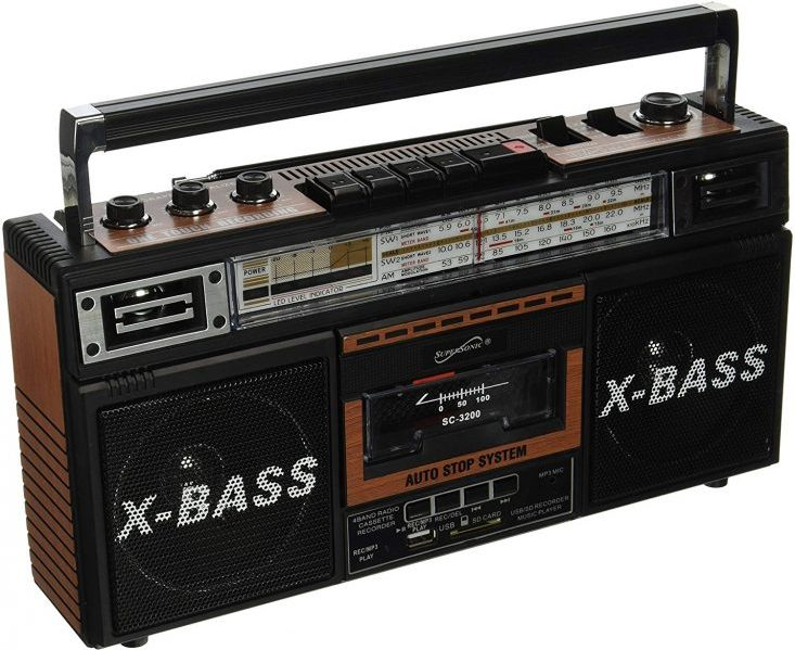 Retro Boomboxes