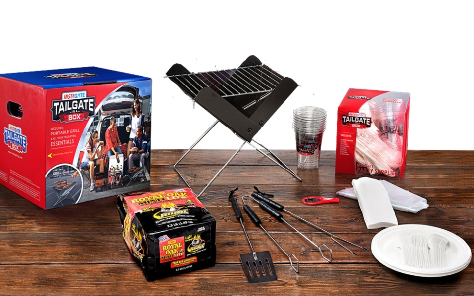 Best Tailgate Package Mini Grill