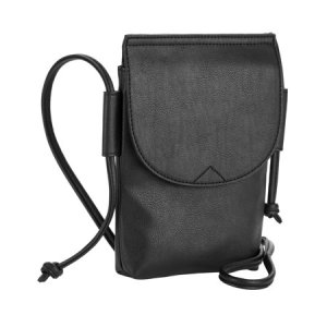 Time and Tru Black N S Knotted Crossbody