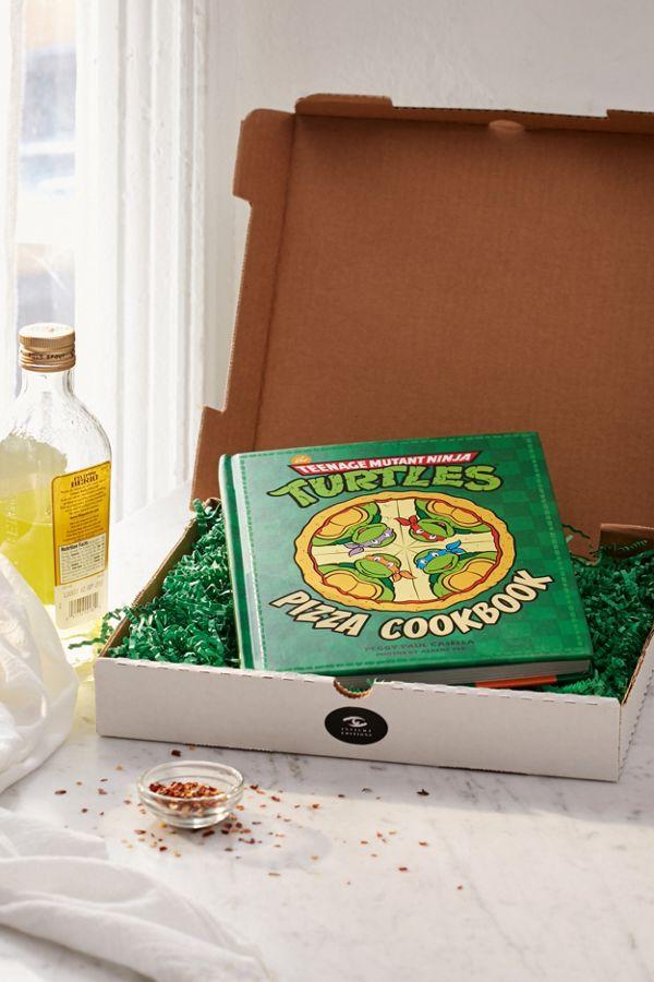 TMNT cookbook pizza
