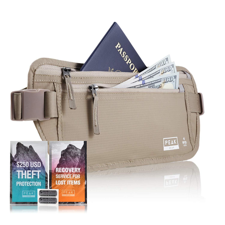 travel essentials money belt