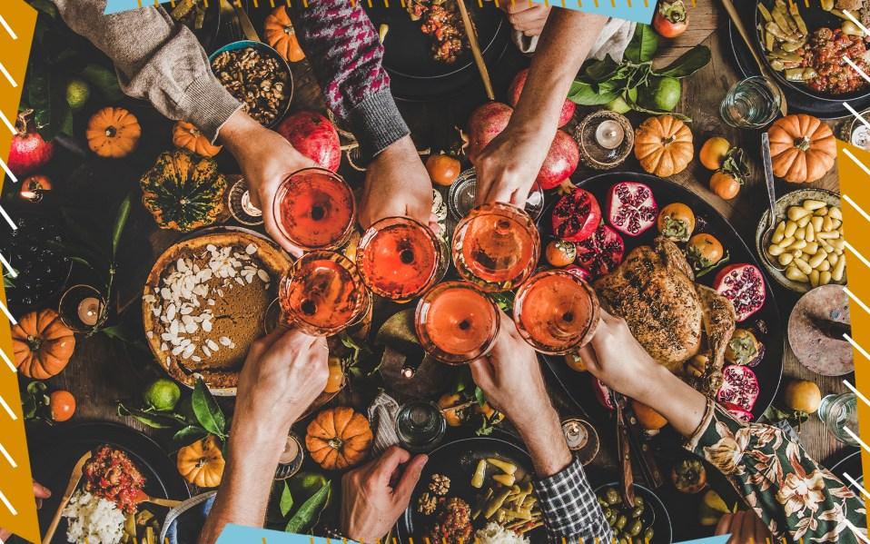 Friendsgiving, how to host friendsgiving