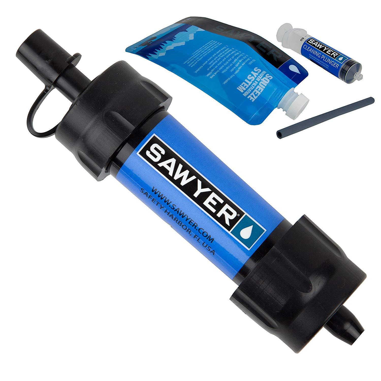 Emergency water filtration