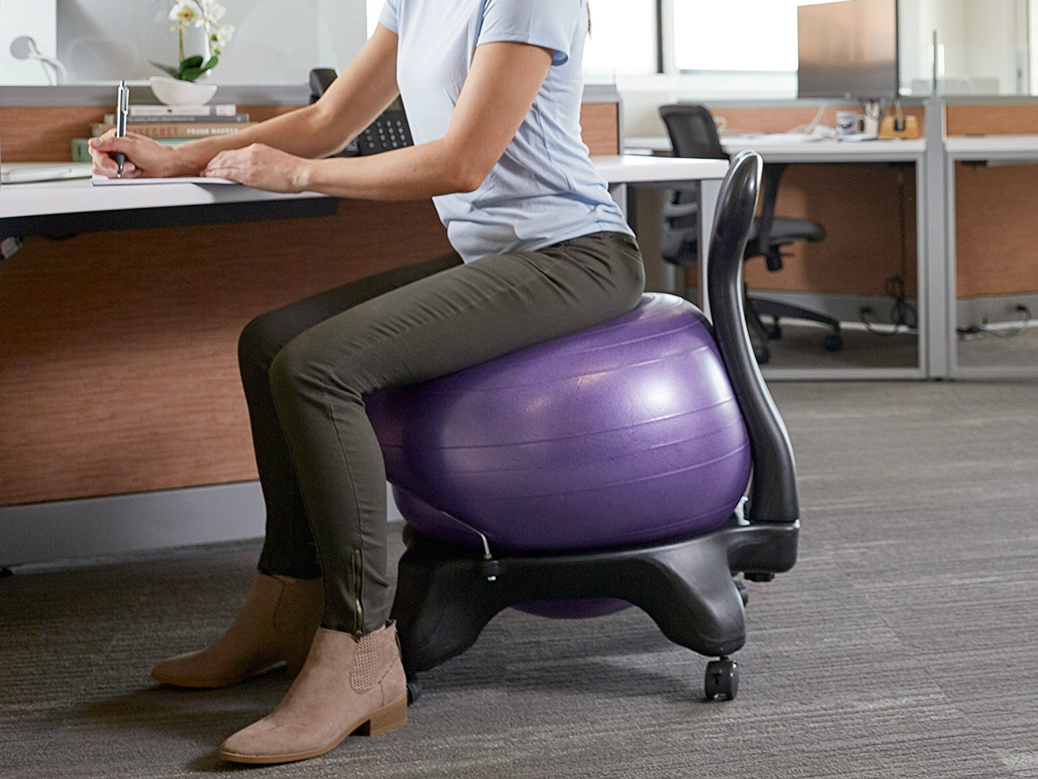 How To Correct Posture Best Yoga Ball Chair For The Office Spy