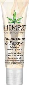 Sugarcane Papaya Lip Scrub Hempz