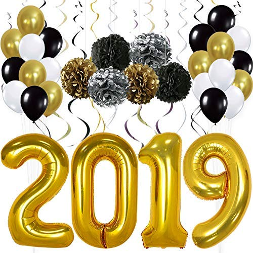 2019 New Years Balloons Amazon