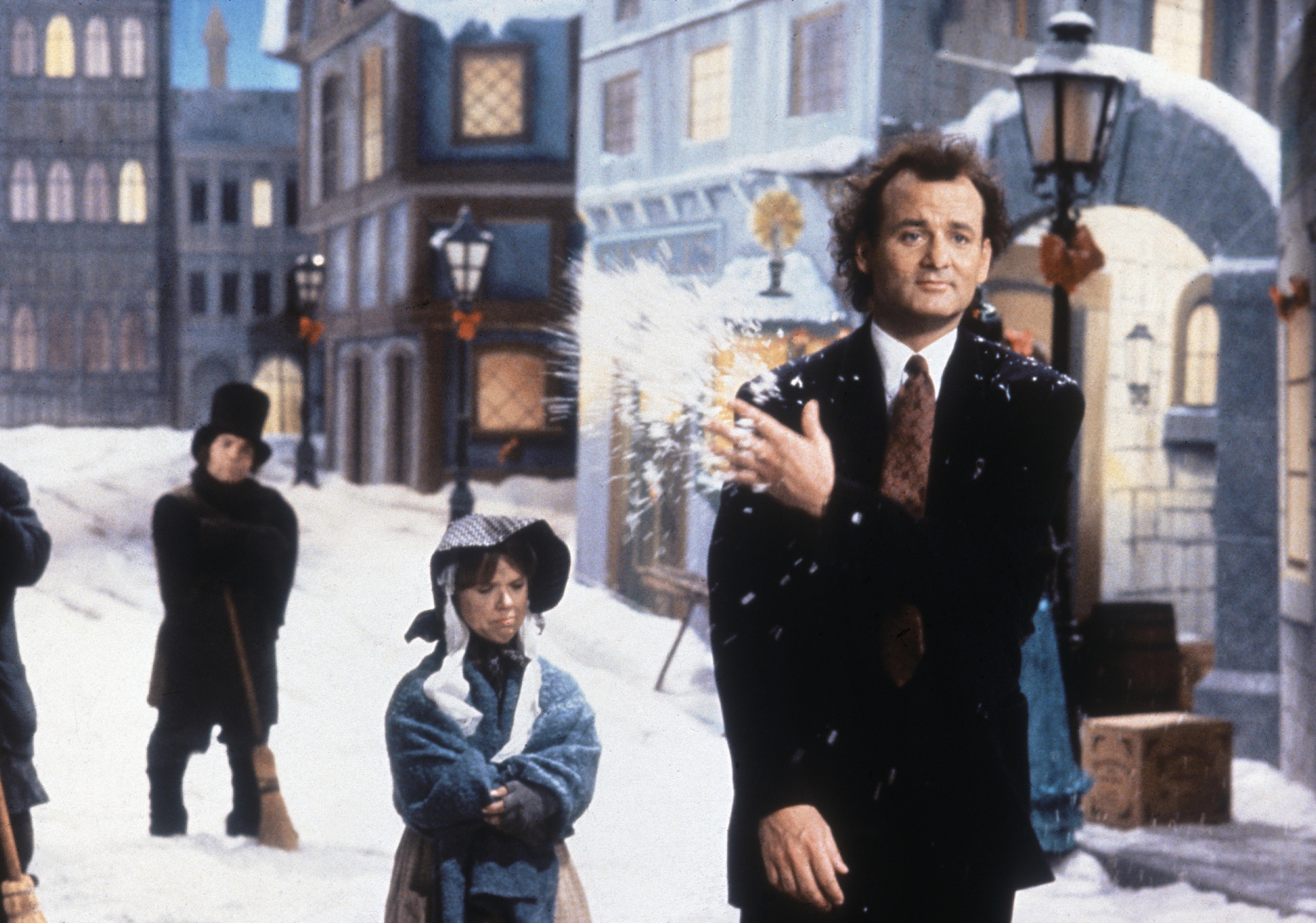 Bill Murray Scrooge