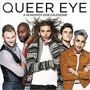 Queer Eye Wall Calendar (2019)