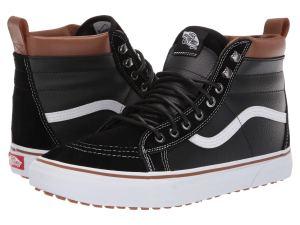 Black Vans Winter Boots