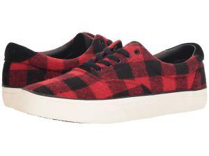 Red Sneakers Ralph Lauren