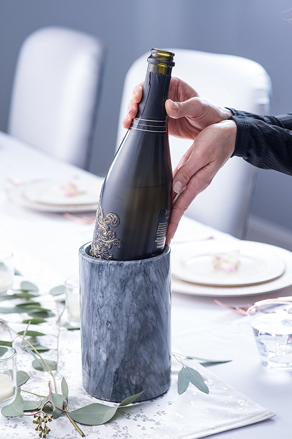 best gift ideas for mom - Modern Innovations Marble Wine Cooler
