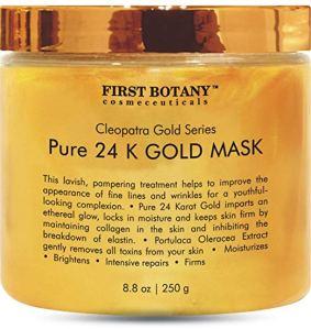 24 K Gold Mask First Botany