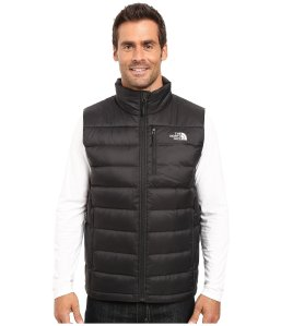 Black Vest Down Men's