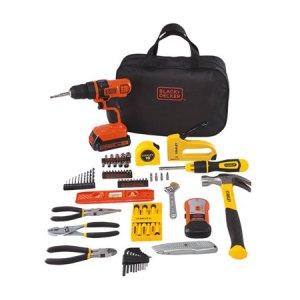 Drill Kit Black and Decker
