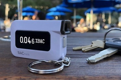 BacTrack Breathalyzer Keychain Amazon