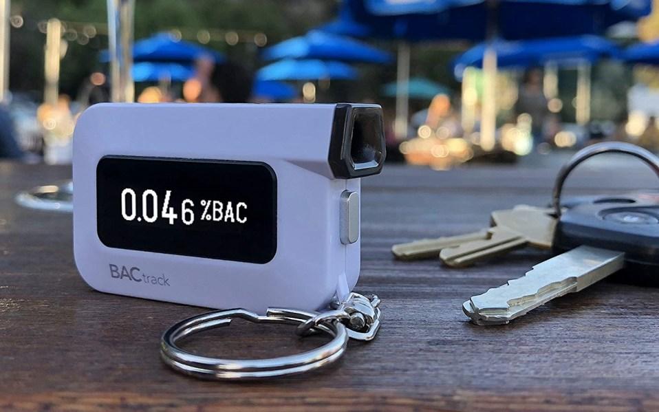 BacTrack Breathalyzer Keychain Amazon