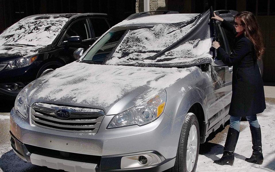how to keep car warm winter