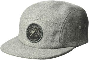 Five Panel Hat Grey