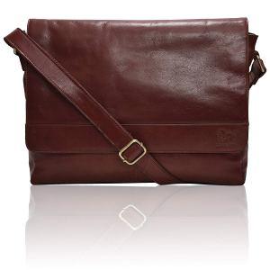 Leather Bag Men's Messenger