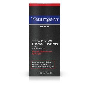 Face Lotion Men's Neutrogena