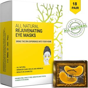 All Natural Rejuvenating Eye Masks