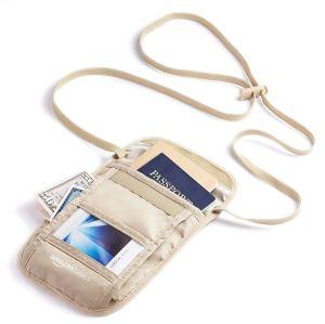AmazonBasics RFID Travel Neck Stash Wallet