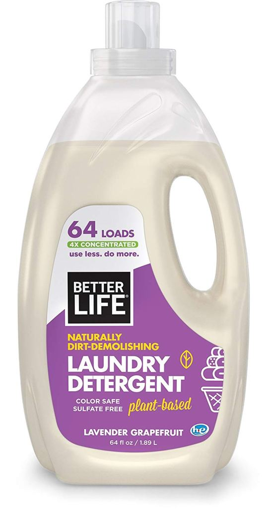 Better Life Natural Plant Based 4X Concentrated Laundry Detergent,