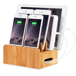 Charging Station 4-Ports for Multiple Devices Amazon