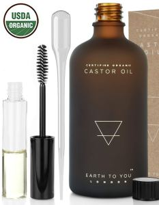 Earth To You Organic Castor Oil