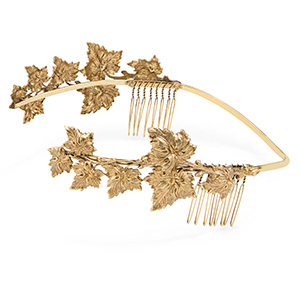 Fairy Queen Gold Circlet Hair Jewelry
