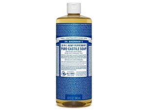 Dr. Bronner's Pure-Castile Peppermint Liquid Soap